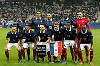 French Team during the International friendly game 2015 football match between France and Armenia on October 8, 2015 at Allianz Riviera of Nice, France. Photo Philippe Laurenson / DPPI