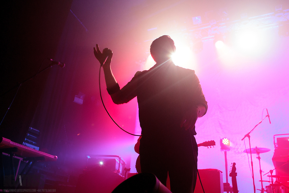 Everything Everything performing live at HMV Ritz, Manchester, Greater Manchester, 2013-10-11