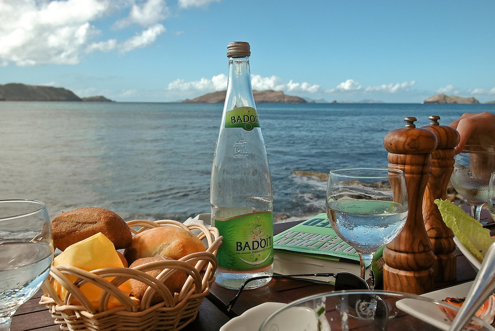 Lorient Bay Lunch in St Barths, FWI