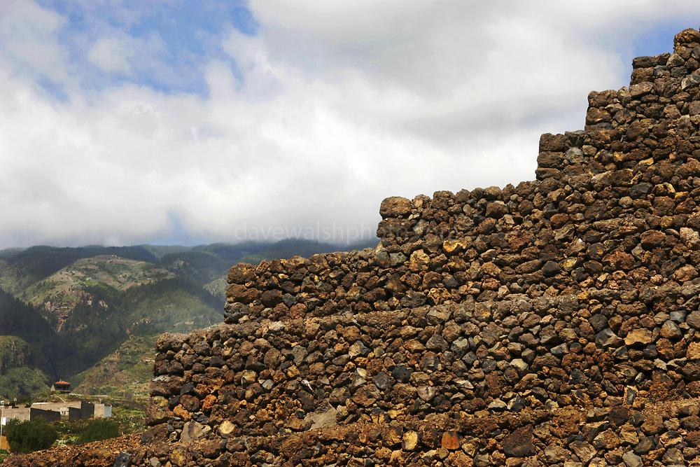 Pyramid #1 at the Pyramids of Güímar, Tenerife, Canary Islands, Spain
