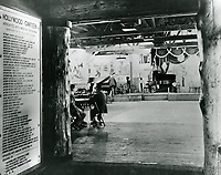 1943 Looking into the main room, from the foyer of the Hollywood Canteen