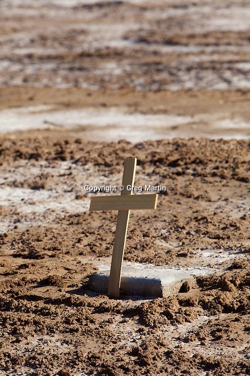 Annonoymous grave in a pauper cemetery, Holtville, CA
