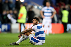 Queens Park Rangers' Darnell Furlong looks dejected after the Sky Bet Championship match at Loftus Road, London.