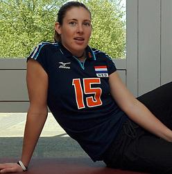 12-05-2005 VOLLEYBAL: TEAMPRESENTATIE: AMSTELVEEN<br /> Manon Gruijthuijsen<br /> ©2005-WWW.FOTOHOOGENDOORN