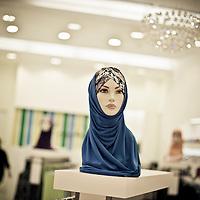 Muslim women's fashion shop in The Pavilion Mall, Bukit Binthang, Kuala Lumpur