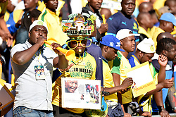 Mamelodi Sundowns supporters in large numbers for the Kaizer Chiefs and Mamelodi Sundowns Shell Helix Ultra Cup at FNB stadium, Johannesburg.<br />Picture: Itumeleng English/African News Agency (ANA)