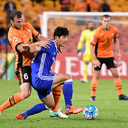 BRISBANE, AUSTRALIA - MAY 10:  during the Asian Champions League Group Stage match between the Brisbane Roar and Ulsan Hyundai at Suncorp Stadium on May 10, 2017 in Brisbane, Australia. (Photo by Patrick Kearney/Brisbane Roar)