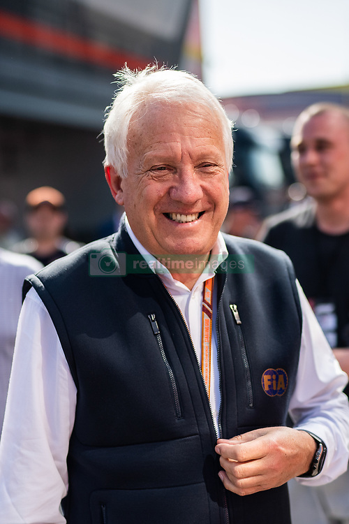 February 28, 2019 - Montmelo, BARCELONA, Spain - CATALONIA, BARCELONA, SPAIN, 28 February. Charlie Whiting  FIA Formula One Race Director, Safety Delegate, Permanent Starter and head of the F1 Technical Department at Paddock of Circuit de Barcelona Catalunya. (Credit Image: © AFP7 via ZUMA Wire)