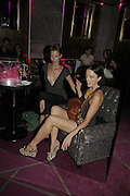 Abbi Eastwood ( T.V. presenter)  and Emma Williams, Maria Grachvogel. POUTÍS 5TH BIRTHDAY PARTY, Cuckoo Club, London. 18 July 2006. ONE TIME USE ONLY - DO NOT ARCHIVE  © Copyright Photograph by Dafydd Jones 66 Stockwell Park Rd. London SW9 0DA Tel 020 7733 0108 www.dafjones.com