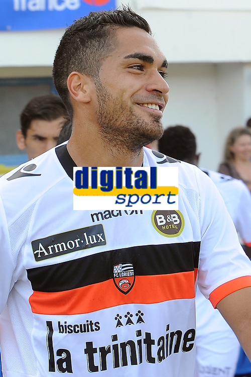FOOTBALL - FRIENDLY GAMES 2012/2013 - STADE RENNAIS v FC LORIENT - 21/07/2011 - PHOTO PASCAL ALLEE / DPPI - THE FC LORIENT NEW PLAYER WESLEY LAUTOA