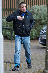 © Licensed to London News Pictures . 03/03/2015 . Bury , UK . MOHAMMED DAVOOD pictured arriving . Iklaq Choudhry Hussain (37), Shayfur Rahman (31), Mohammed Davood (37), Rehan Ali (26) and Kutab Miah (34) are amongst ten men charged in relation to the investigation of child sexual exploitation in Rochdale appearing before Bury Magistrates' Court today (Tuesday 3rd March 2015) . Photo credit : Joel Goodman/LNP