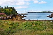 The beautiful landscape of Blacks Harbour, New Brunswick