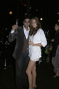 Jag Bolina and Antalya Brocket, Party Belle Epoque hosted by The Royal Parks Foundation and Champagne Perrier Jouet. The Grand Spiegeltent, the Lido Lawns. Hyde Park. London. 14 September 2006. ONE TIME USE ONLY - DO NOT ARCHIVE  © Copyright Photograph by Dafydd Jones 66 Stockwell Park Rd. London SW9 0DA Tel 020 7733 0108 www.dafjones.com