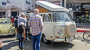 Volkswagen camper, at the Huntington beach car show March 2016