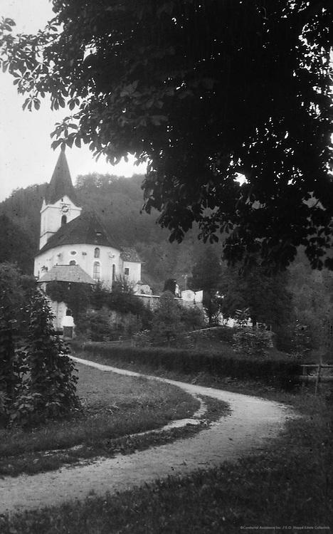 Road Leading Toward Church, Leonstein, Austria, 1925