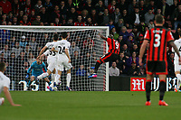 Football - 2016 / 2017 Premier League - AFC Bournemouth vs. Swansea City<br /> <br /> Bournemouth's Benik Afobe opens the scoring with a deflected shot at the Vitality Stadium (Dean Court) Bournemouth<br /> <br /> COLORSPORT/SHAUN BOGGUST
