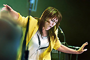 Nederland, Nijmegen, 21-5-2018Live optreden van zangeres, artiest Wende tijdens de laatste dag van de Music Meeting.Foto: Flip Franssen