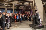 SIR NICHOLAS SEROTA, The Tanks at Tate Modern, opening. Tate Modern, Bankside, London, 16 July 2012