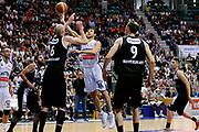 DESCRIZIONE : Bologna Serie B Playoff Girone B Finale Gara 1 2014-15 Eternedile Bologna Contadi Castaldi Montichiari<br /> GIOCATORE : Marco Carraretto<br /> CATEGORIA : tiro penetrazione<br /> SQUADRA : Eternedile Bologna<br /> EVENTO : Campionato Serie B 2014-15<br /> GARA : Eternedile Bologna Contadi Castaldi Montichiari<br /> DATA : 28/05/2015<br /> SPORT : Pallacanestro <br /> AUTORE : Agenzia Ciamillo-Castoria/M.Marchi<br /> Galleria : Serie B 2014-2015 <br /> Fotonotizia : Bologna Serie B Playoff Girone B Finale Gara 1 2014-15 Eternedile Bologna Contadi Castaldi Montichiari
