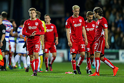 Luke Freeman of Bristol City looks frustrated after they lose 1-0 - Rogan Thomson/JMP - 18/10/2016 - FOOTBALL - Loftus Road Stadium - London, England - Queens Park Rangers v Bristol City - Sky Bet EFL Championship.