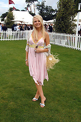 HANNAH SANDLING at the Cartier International polo at Guards Polo Club, Windsor Great Park on 29th July 2007.<br /><br />NON EXCLUSIVE - WORLD RIGHTS