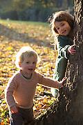 Magali & Frederik in Fall Foliage