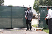 Behind a draped fence, away from public eye, the remains of Confederate general, slave trader and Ku Klux Klan Grand Wizard Nathan Bedford Forrest and his wife were moved from Health Sciences Park earlier this week the Sons of Confederate Veterans and Memphis Greenspace announced Friday, June 11, in the park. Memphis Greenspace president and Shelby County Commissioner VAN TURNER says the two groups worked through the situation peacefully.