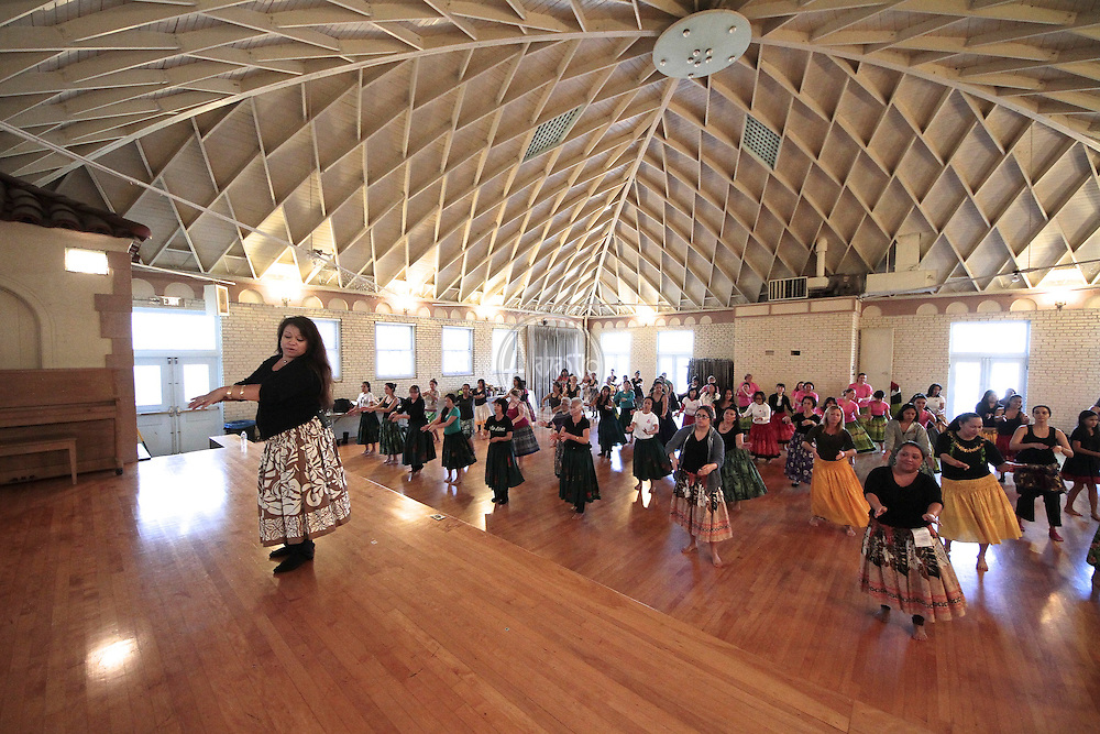 SoCal Slack Key Festival Hula Workshop with Lorna Lim in Redondo Beach.