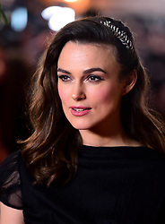 Kiera Knightley attending the world premiere of The Aftermath, held at the Picturehouse Central Cinema, London
