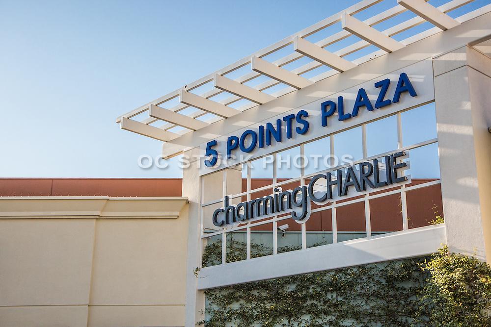 5 Points Plaza in Huntington Beach