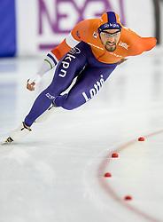 11-12-2016 NED: ISU World Cup Speed Skating, Heerenveen<br /> Kjeld Nuis NED pakt goud op de 1000 meter