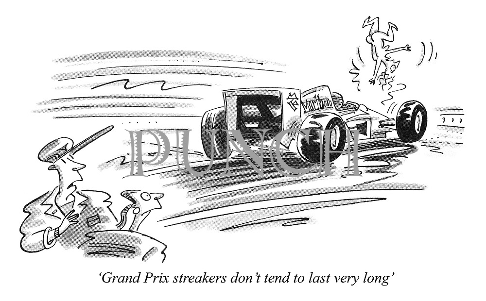 'Grand Prix streakers don't tend to last very long'