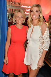 Left to right, BEVERLEY DAVY and her daughter CHELSY DAVY at the launch of AYA jewellery by Chelsy Davy held at Baar & Bass, 336 Kings Road, London on 21st June 2016.