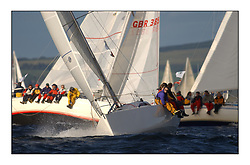 Yachting- The start of the Bell Lawrie Scottish series at Gourock racing overnight to Tarbert Loch Fyne where racing continues over the weekend.<br /><br />Tartan Revolution, Projection 920 GBR9203R Class 3<br /><br />Pics Marc Turner / PFM