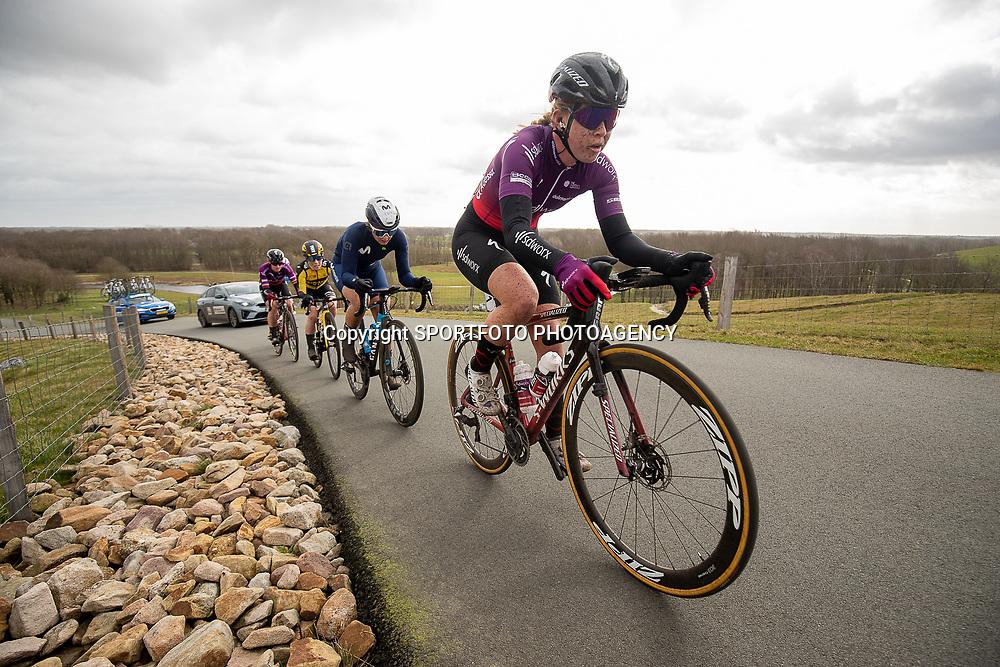 12-03-2021: Wielrennen: Healthy Ageing Tour: Wijster <br />Lonneke Uneken