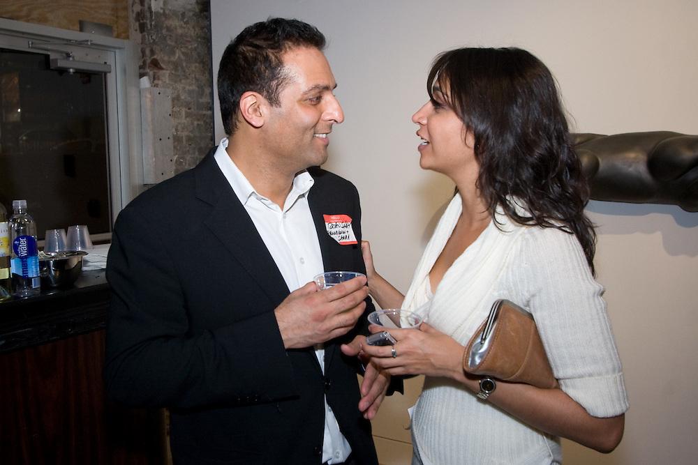 Rajan Shah (left)