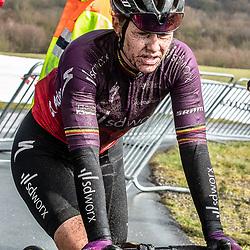 12-03-2021: Wielrennen: Healthy Ageing Tour: Wijster<br />Jolien dHoore