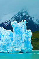 Grey Glacier, Grey Lake (Lago Grey), Torres del Paine National Park, Patagonia, Chile
