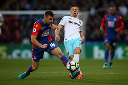 Aaron Cresswell of West Ham United in action - Mandatory by-line: Jason Brown/JMP - 15/10/2016 - FOOTBALL - Selhurst Park - London, England - Crystal Palace v West Ham United - Premier League