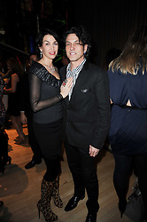 STEPHEN & ASSIA WEBSTER at The Rodial Beautiful Awards in aid of the charity Kids Company held in the Billiard Room at The Sanderson, 50 Berners Street, London on 3rd February 2010.