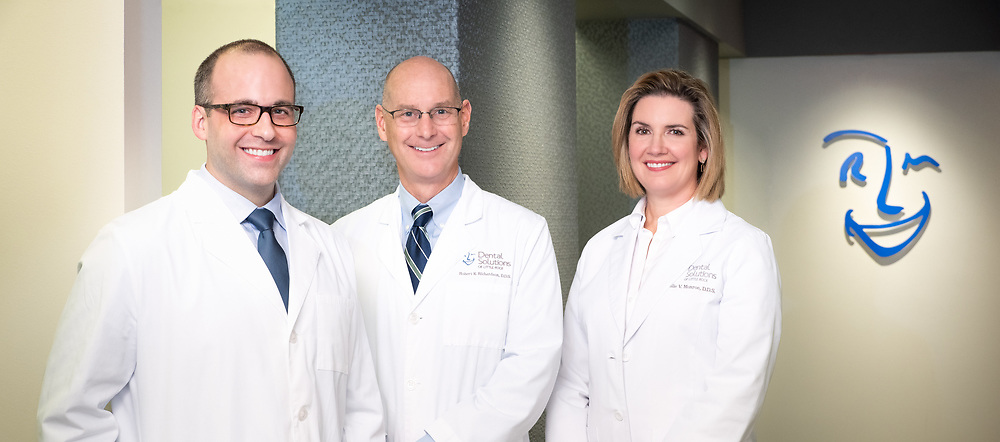 Dental Solutions team in Little Rock, Arkansas photographed by commercial photographer, Alex Kent