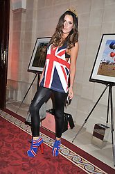 LILY FORTESCUE at Tatler's Jubilee Party in association with Thomas Pink held at The Ritz, Piccadilly, London on 2nd May 2012.