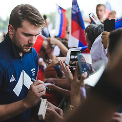 20210808, SLO, Events, Arrival of Slovenian basketball team from Tokio 2020