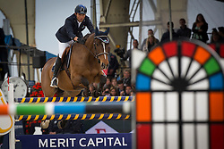 Moneta Luca Maria (ITA) - Neptune Brecourt<br /> Longines Global Champions Tour of Antwerpen 2014<br /> © Dirk Caremans