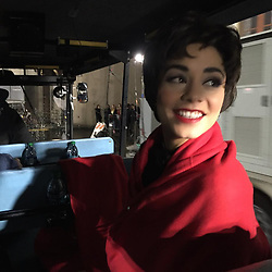 """Vanessa Hudgens releases a photo on Instagram with the following caption: """"A lil throwback to doing grease live. So excited to share another live musical with you guys. Rent is such a special show and it\u2019s an honor to be apart of it. Only 4 days away till @rentonfox !!!!!"""". Photo Credit: Instagram *** No USA Distribution *** For Editorial Use Only *** Not to be Published in Books or Photo Books ***  Please note: Fees charged by the agency are for the agency's services only, and do not, nor are they intended to, convey to the user any ownership of Copyright or License in the material. The agency does not claim any ownership including but not limited to Copyright or License in the attached material. By publishing this material you expressly agree to indemnify and to hold the agency and its directors, shareholders and employees harmless from any loss, claims, damages, demands, expenses (including legal fees), or any causes of action or allegation against the agency arising out of or connected in any way with publication of the material."""