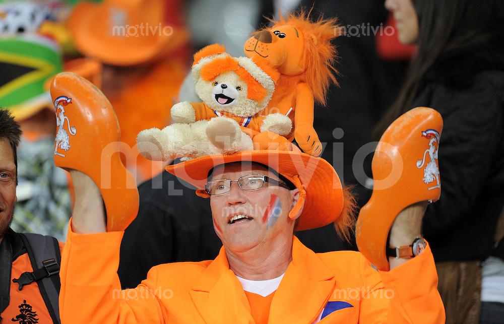 FUSSBALL WM 2010   VORRUNDE    Gruppe E   24.06.2010 Kamerun - Holland HOLLAND FAN