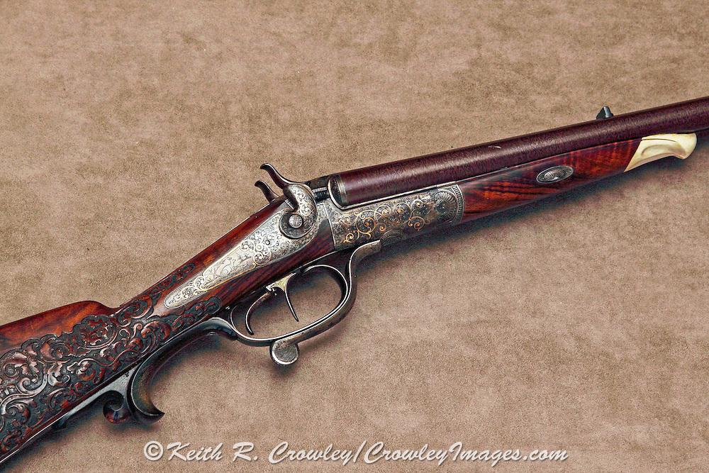 H.G. Cordes, underlever double rifle