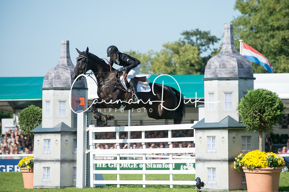 Price Jonelle, (NZL), Classic Moet<br /> Land Rover Burghley Horse Trials - Stamford 2015<br /> © Hippo Foto - Jon Stroud