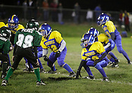 Salisbury Mills, New York - Washingtonville players line up during an Orange County Youth Football League game on Oct. 16, 2010.