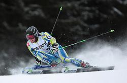 19/12/2010 ALPINE SKI WORLD CUP VAL GARDENA 2010 FIS SKI WELT CUP. .GORZA Ales of Slovenia .© Photo Pierre Teyssot / Sportida.com.